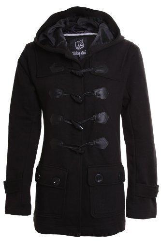 Manteau Hiver Duffle Capuche Neuf Noir A Femme coat Fantasia Poche vTAnBqq