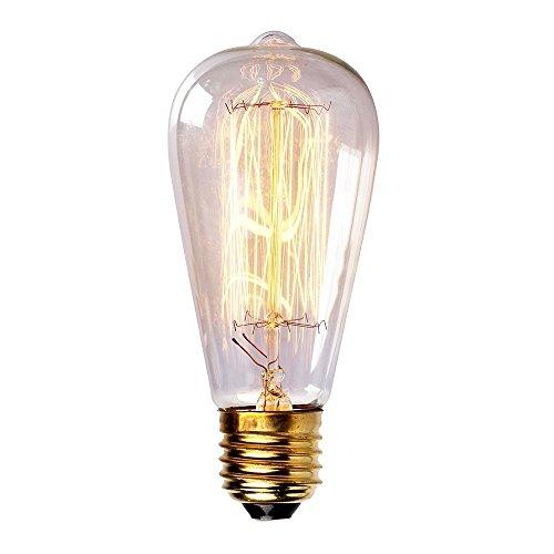 Save 38 Newhouse Lighting 60 Watt Vintage Edison Filament Light Bulb Medium E26 Standard