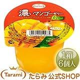 [たらみ] 濃いマンゴーゼリー 0kcal 290g x 6個