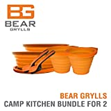 Bear Grylls Camp Kitchen Bundle for Two People