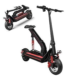 TB-Scooter Monopattino Elettrico Pieghevole, Schermo LCD, Batteria con Autonomia Fino a 150 km, Potente Motore da 500W…