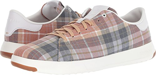 Cole Haan Men's Grandpro Tennis Madras/White 8 D US