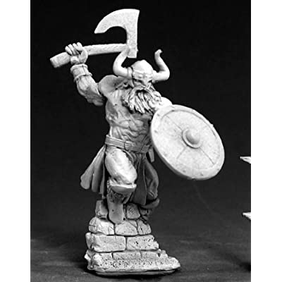 Reaper RPR03385 Amon Frostspear Viking Hero Dark Heaven Legends Minature Figures by Miniatures: Toys & Games