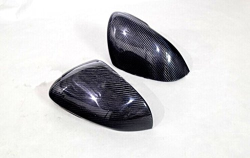 Carbon Fiber Mirror Covers For Jaguar XKR-S Convertible 2011-2014 by JPCarbon