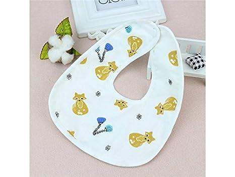 TjcmSs - Toalla de saliva impermeable para bebé, diseño de dibujos animados: Amazon.es: Bebé