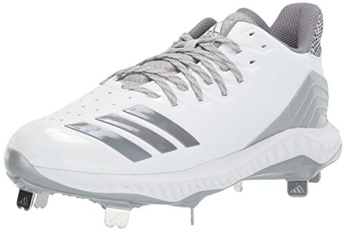 adidas Women's Icon Bounce, White Grey, 7.5 M ()