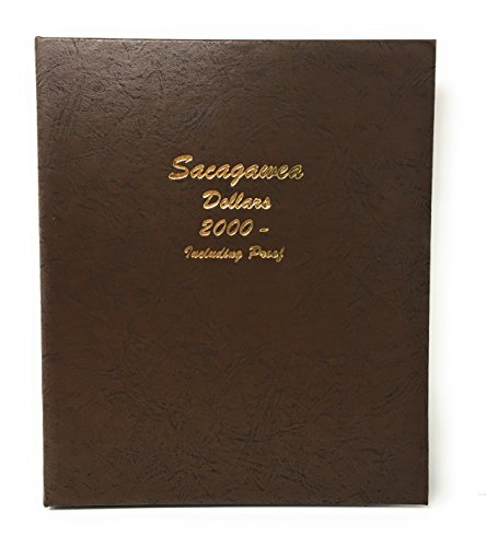 Dansco 8183 Sacagawea US Dollar Coin Album with Proof, 2000 - 2019 (2000 Dollars)
