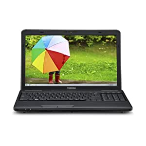 Toshiba Satellite C655D-S5540 15.6 -Inch Laptop (1.65 GHz AMD E-450 Processor, 3GB SO-DIMM, 320GB HDD, Windows 7 Home Premium) Black