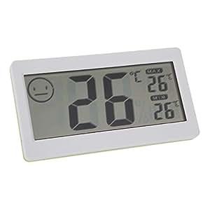 3.3cm LCD Mini Digital termómetro inalámbrico interior higrómetro Temperatura Medidor de humedad nuevo termostato electrónico Tester