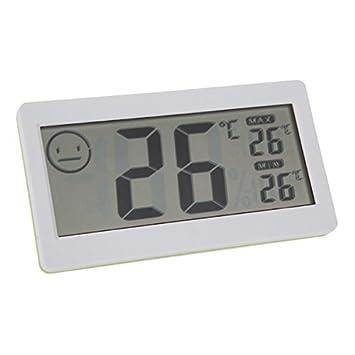 8,38 cm LCD Mini Digital termómetro inalámbrico temperatura en interiores higrómetro medidor de humedad