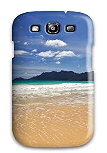 JessicaBMcrae HCfunsK1839dxMUz Case For Galaxy S3 With Nice Small Waves On The Beach Appearance