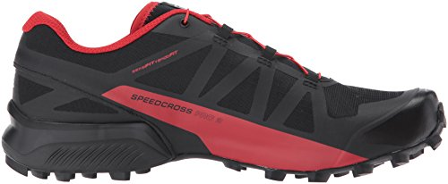Salomon Speedcross Pro 2, Scarpe da Trail Running Uomo Nero (Black/Barbados Cherry/Black 000)
