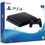 PlayStation 4 (PS4) - Consola Slim 1TB Negra