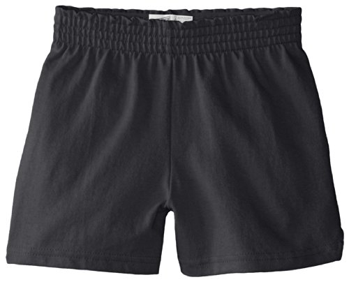 (Soffe Big Girls' New Soffe Short, Black, Medium)