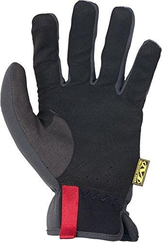 Mechanix Wear 185184 Slip-On Elastic-Cuff Mechanic's Glove Fast Fit Gloves, L