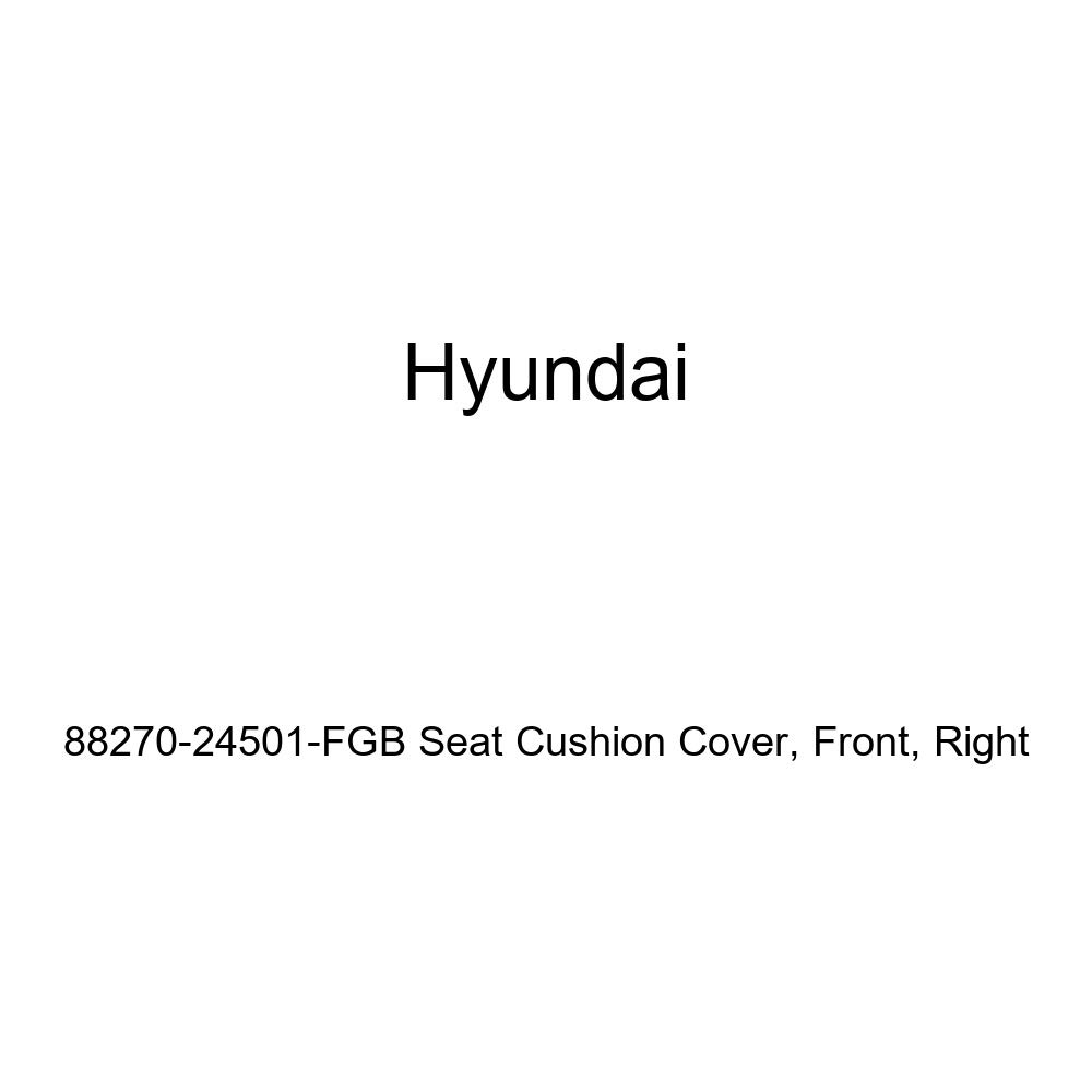 Right Front Genuine Hyundai 88270-24501-FGB Seat Cushion Cover