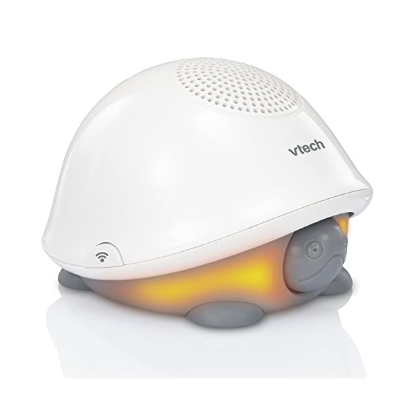 VTech BC8311 Tommy The Turtle Storytelling Baby Sleep Soother with a White Noise Sound Machine Featuring; 10 Stories, 10 Ambient Sounds & 10 Calming Melodies with Glow-on-Ceiling Night Light