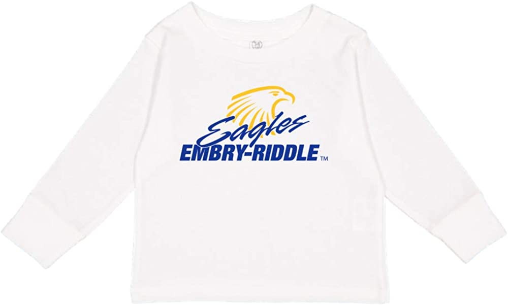 NCAA Embry Riddle Daytona Eagles PPERAUD02 Toddler Long-Sleeve T-Shirt
