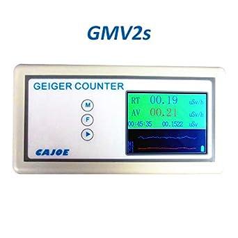 Geiger Counter Detector de radiación nuclear X-ray Y-ray B-ray Tubo Dosimeter con alarma 2.4 TFT Pantalla en tiempo real Radiación Curva: Amazon.es: ...