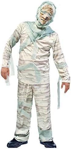 Partilandia Disfraz Momia Gris para Adulto (S): Amazon.es ...