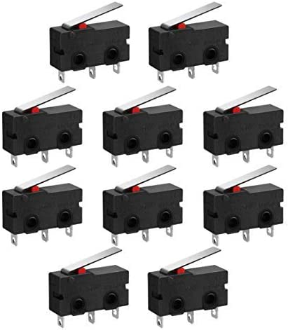5 x Push Button V4 Miniature Microswitch SPDT 5A Micro Switch