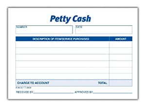Amazon.com : TOPS Received of Petty Cash Forms (3008) : Personnel