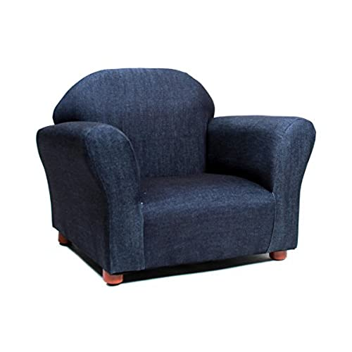 KEET Roundy Kidu0027s Chair Denim, Blue