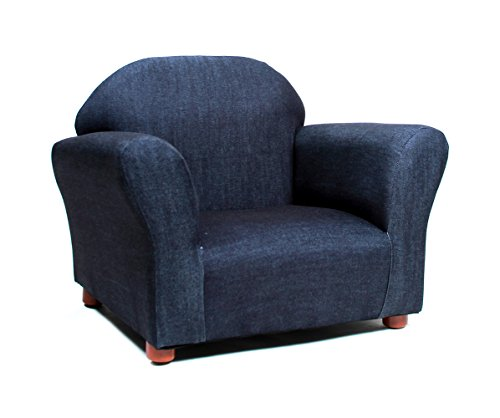 (KEET Roundy Kid's Chair Denim, Blue )