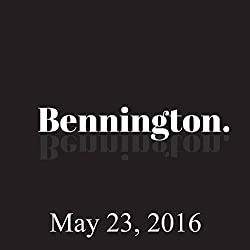 Bennington, James Adomian, May 23, 2016
