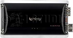 Infinity KAPPA FOUR - Amplificador multicanal para vehículos, plateado y negro