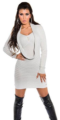 In-Stylefashion - Vestido - para mujer plata