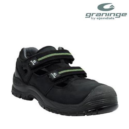 Ejendals 7218 ? 7 Misura 119,4 Cm Graninge Sandali Di Sicurezza 18.333,7 Cm - Nero / Verde
