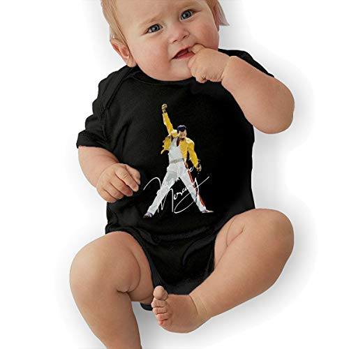 JosephG Boys & Girls Freddie Mercury Romper Bodysuit