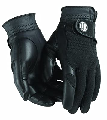 HJ Glove Men's Black Winter Performance Golf Glove