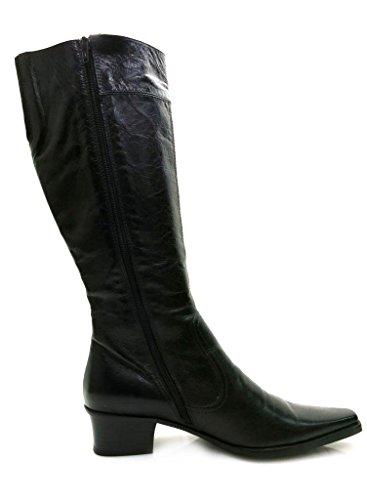 Lamica Women's Boots Ladies Shoes Black BirjPwg