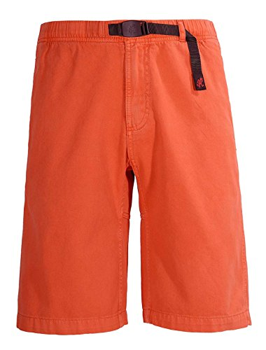 Gramicci Mens Rockin Sport Short, Orange Spice