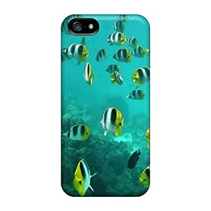 New Sickle Coral Reef Fish Cases Covers, Anti-scratch KjR30649owqH Phone Cases For Iphone 5/5s