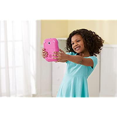 VTech Kidi Secrets Selfie Journal with Face Identifier, Pink: Toys & Games