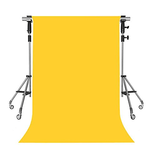 MEETS 5x7ft Non-woven Fabric Backdrop Yellow Fashion Photography Background Studio Props Photo Booth YouTube Backdrop HUANGWMT001