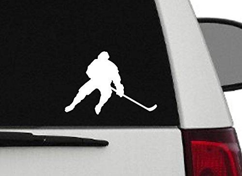 Hockey Player Decal - Maxx Graphixx Decal - Hockey Player Decal - Hockey Player Silhouette Vinyl Decal - Hockey Player - 6 (6