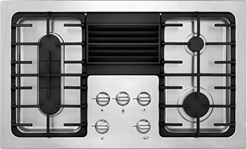 """Frigidaire RC36DG60PS 36"""" Built In Downdraft Gas Cooktop with 4 Sealed Burners in Stainless Steel"""
