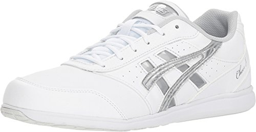 Asics Cheer 8 Women's Cheer Shoes, White, Size 12