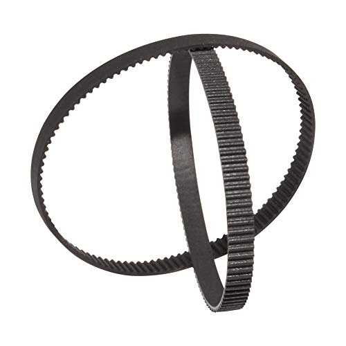 BEMONOC 2GT Rubber Timing Belt 220-2GT-6 L=220mm W=6mm 110 Teeth in Closed Loop for 3D Printer Pack of 10PCS ()
