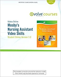 Mosbys nursing assistant video skills student online version 40 mosbys nursing assistant video skills student online version 30 access code fandeluxe Image collections