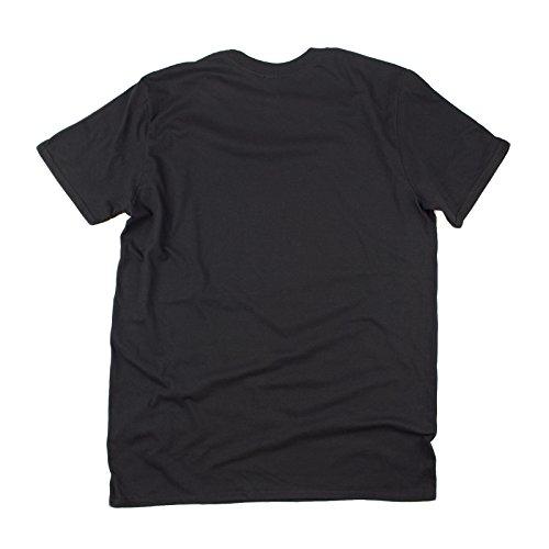 negro Camiseta eslogan 123t Slogans corta de para hombre de manga nHzppOax