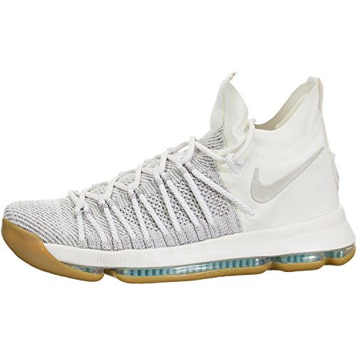 Nike Zoom Elite - NIKE Men's Zoom KD9 Elite Pale Grey/Pale Grey/Ivory Basketball Shoe 11 Men US