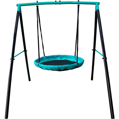 Jump Power UFO Swing Set for 1 or 2 Children Kids and Toddlers For Fun in Your Backyard quotASTM Safety Approvedquot