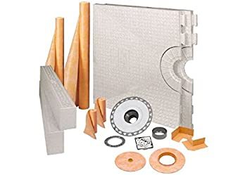 Schluter Kerdi 48u0026quot; X 72u0026quot; Shower Kit With Stainless ...
