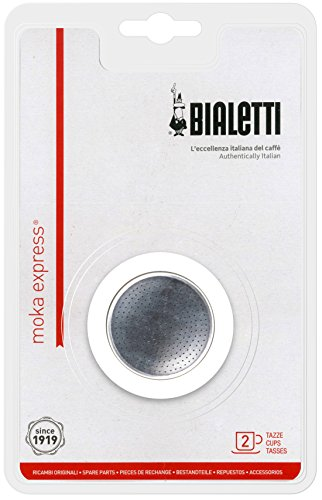 BIALETTI (Bialetti) parts Mocha Express 2 cups for gasket & filter set 2 Mocha Cups