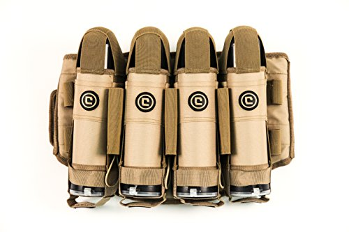Critical Paintball - Critical Paintball V4 True Ejection Stealth Pack - 4+5 (Coyote Tan)